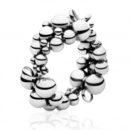 Georg Jensen Moonlight Grapes armring 551B, sølv