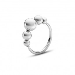 Georg Jensen Moonlight Grapes ring i sølv, 551F